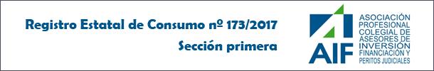 Registro Estatal de Consumo - AIF